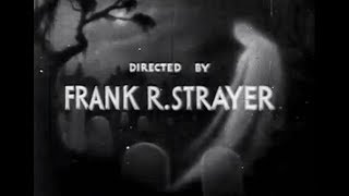 Oldie Ghost Horror Movie Film - The Ghost Walks (1934)