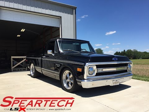 1969 Chevrolet C10 Truck - Supercharged LT4 / 8L90 Swap - Speartech
