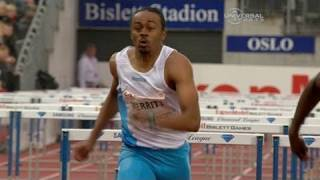 Aries Merritt wins 110m hurdles in Oslo - from Universal Sports