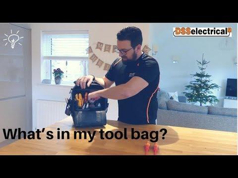 What's In My Tool Bag? Electricians Hand Tools