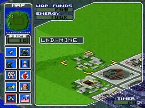Super Nintendo Entertainment System Metal Marines (USA)