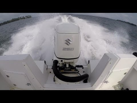 250 suzuki outboard test run and overview