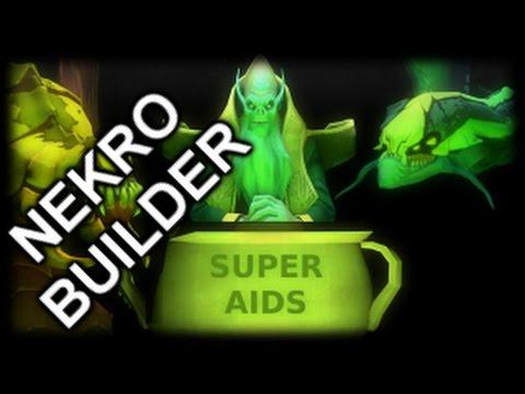 LEGION TD REBORN | NEW BUILDER : NECRO BUILDER! | WHAT A BROKEN MESS | Dota 2 Reborn Mod!