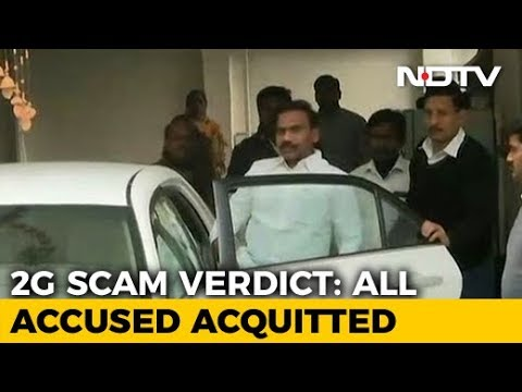 A Raja, Kanimozhi, 15 Other Accused Acquitted in 2G Case