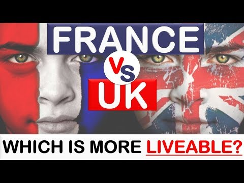 France vs United Kingdom (UK) - Which country is more liveab