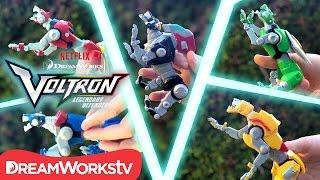 Voltron Toys: Voltron Fights Myzax | DREAMWORKS VOLTRON LEGENDARY DEFENDER
