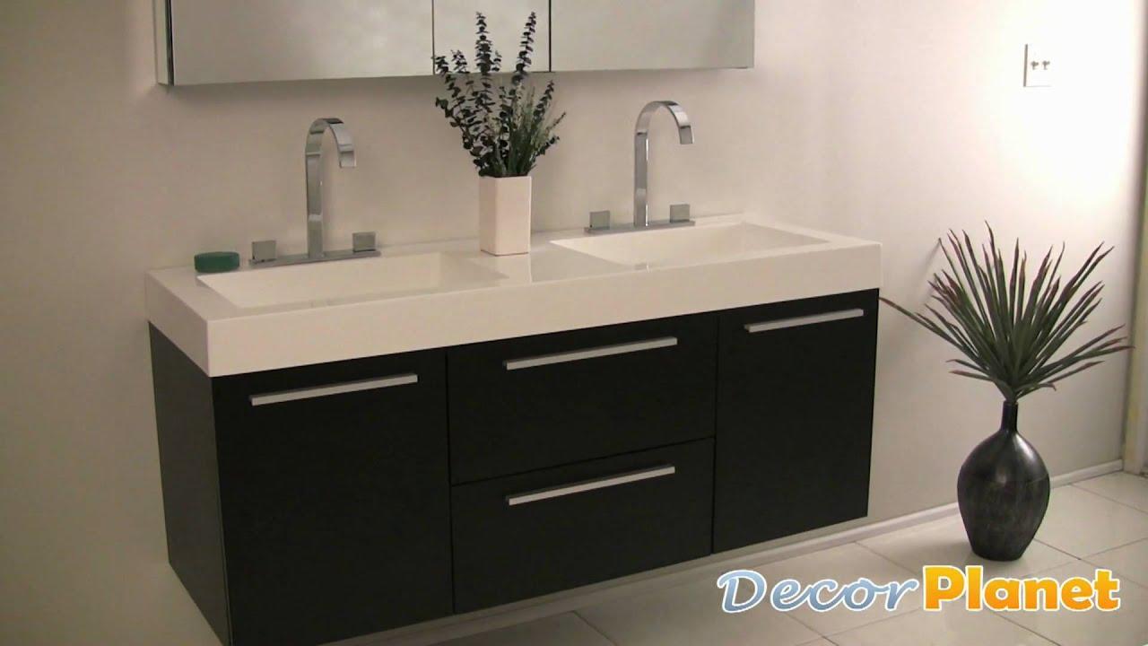 Opulento black bathroom vanity contemporary vanities for Decorplanet bathroom vanities