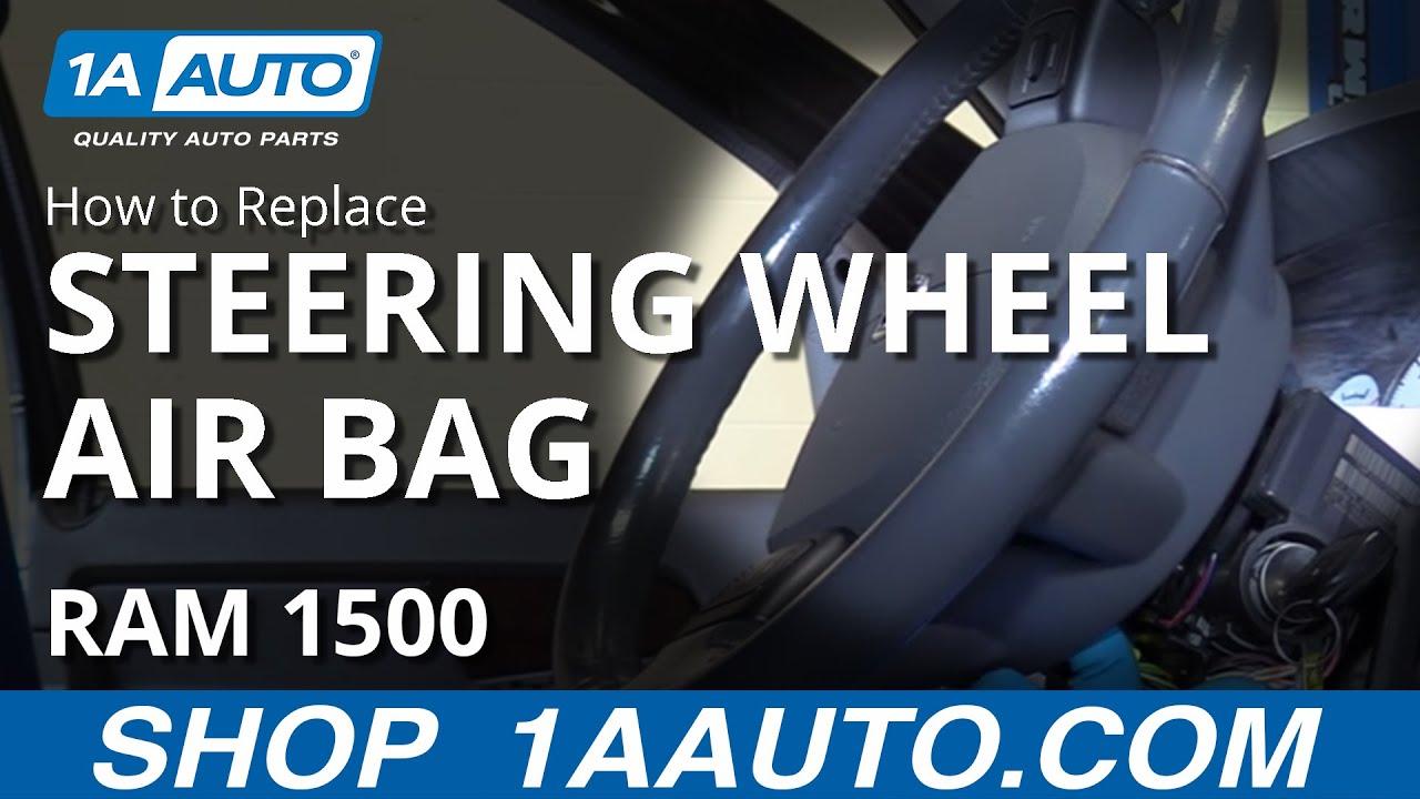 medium resolution of how to remove steering wheel airbag 02 08 dodge ram