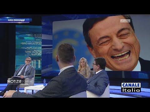 Valerio Malvezzi: 'Draghi ha difeso l'euro, non il cittadino italiano' | Notizie Oggi Lineasera