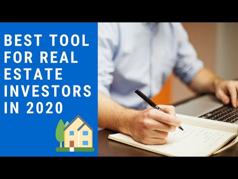 real-estate-investing-101:-best-tool-for-real-estate-investors-in-2020
