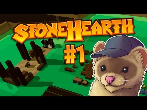 Stonehearth Ep. 1 - MY OWN LITTLE TOWN ★ Stonehearth Gameplay