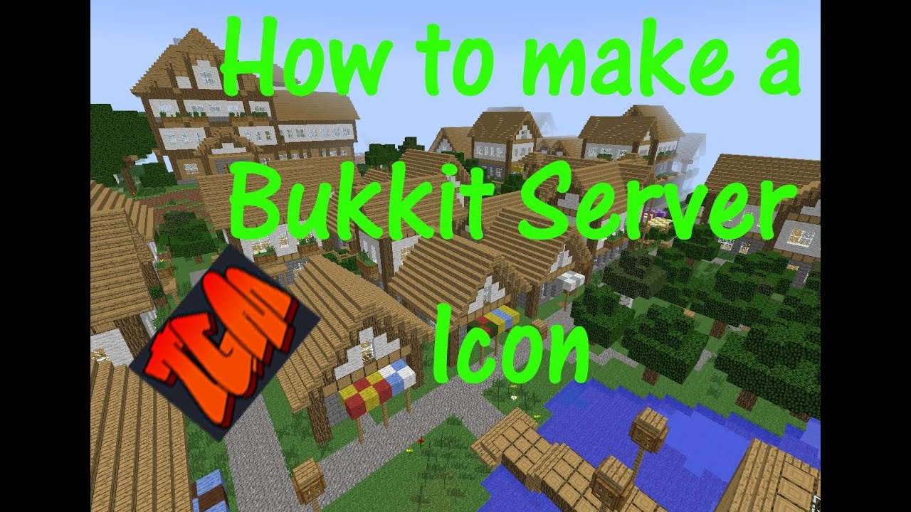 how to make a minecraft icon