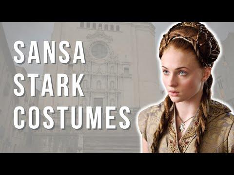 The Costumes Of Sansa Stark Season 1-5 (Game Of Thrones #2)