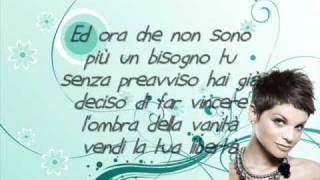 Alessandra Amoroso - il mondo in un secondo + testo ( lyrics )