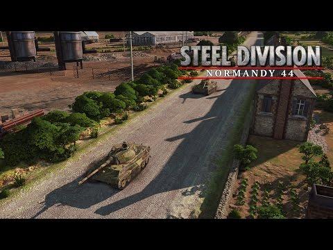 Steel Division: Normandy 44 #001 -German- Schwere Geschütze