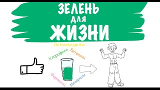 Зелень Для Жизни. Виктория Бутенко - Анимированный Обзор Книги | Зеленый Коктейль