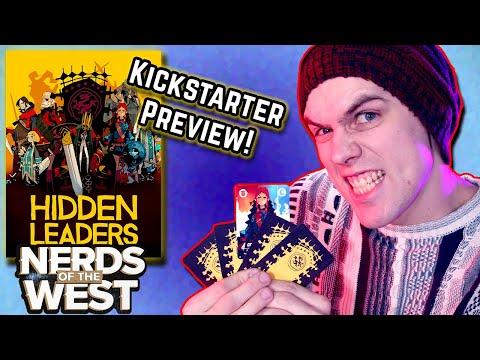 Hidden Leaders | Kickstarter Playthrough-Preview