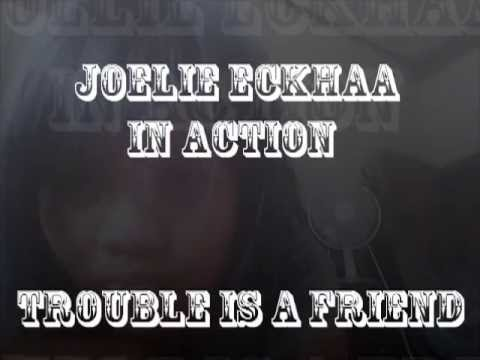 Trouble is a friend by joelie (with lyrics)