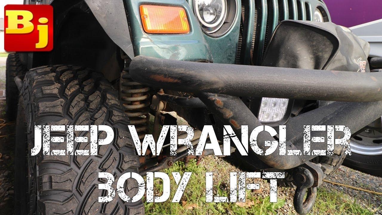 hight resolution of jeep wrangler body lift