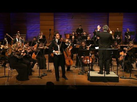 Dragos Manza performs Jean Sibelius' Violin Concerto in D minor op. 47 (Full)