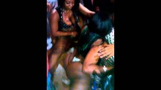 Stripper on Cleveland party bus!!!