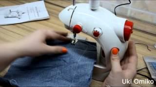 видео Китайские швейные машинки | Инструкция для швейной машины Dragonfly 218