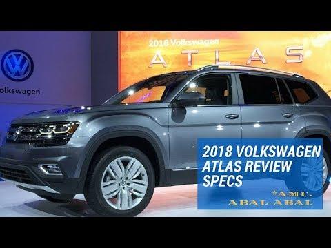2018 Volkswagen Atlas Review Specs
