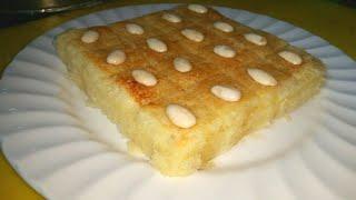 sweet dessert basbousa semolina cake