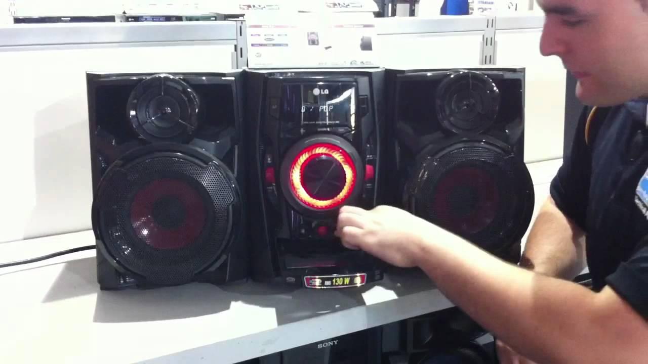 lg mini hifi system cm4360 manual