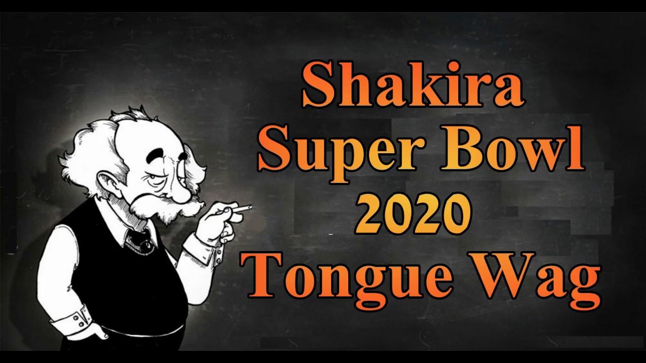 Shakira's Super Bowl 2020 Tongue Wag