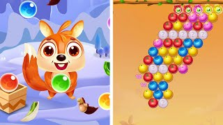 BUBBLE SHOOTER PET MATCH  FULL GAME💪🍇🍉🍓| RELAX GAME FOR DAY | ANDROID/IOS # 26 screenshot 5