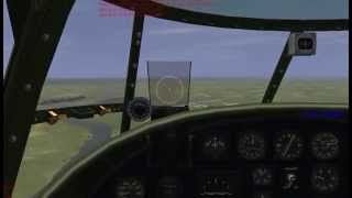 IL-2 (Pacific Fighters) fighter/ bomber gameplay