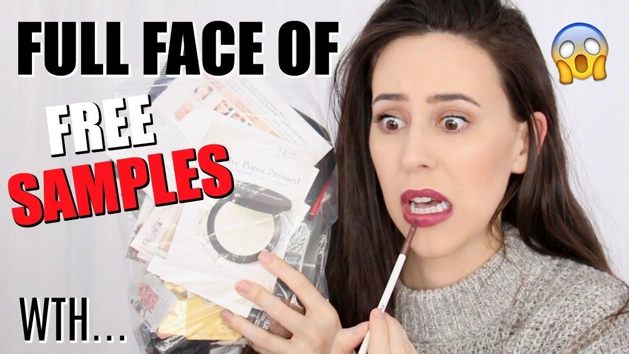 Full Face Of Free Sephora Samples