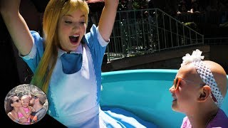HUGE SURPRISE in Disneyland! Alice rode the teacups with us! | Disneyland vlog #132