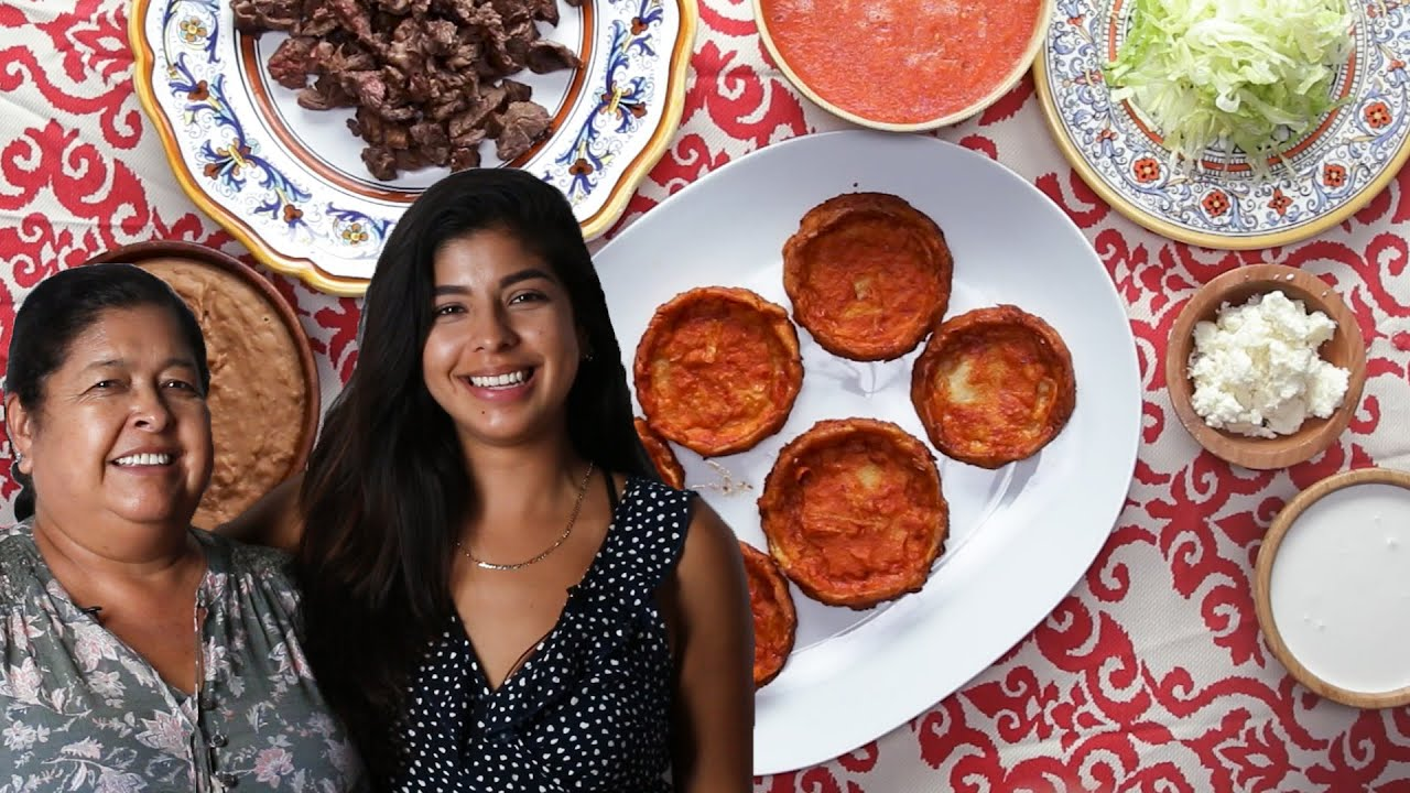 Mexican Sopes with Diana and Elvira