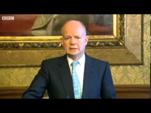 William Hague on meeting Syria opposition
