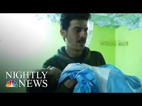 Syria Chemical Attack Massacre: Hundreds Killed And Injured | NBC Nightly News
