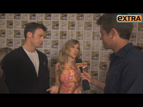 Chris Evans and Scarlett Johansson on 'Captain America' Chemistry