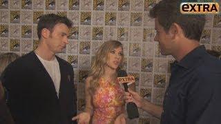 Chris Evans and Scarlett Johansson on 'Captain America' Chemistry
