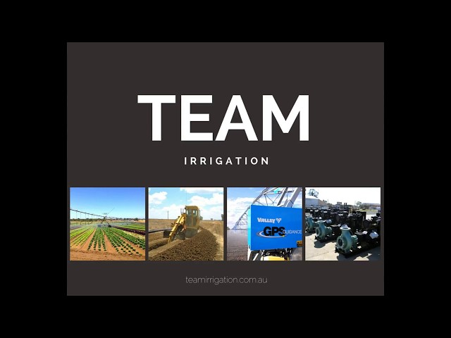 The future of irrigation technology in Australia