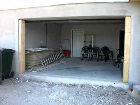 Hørmann garasjeport montering