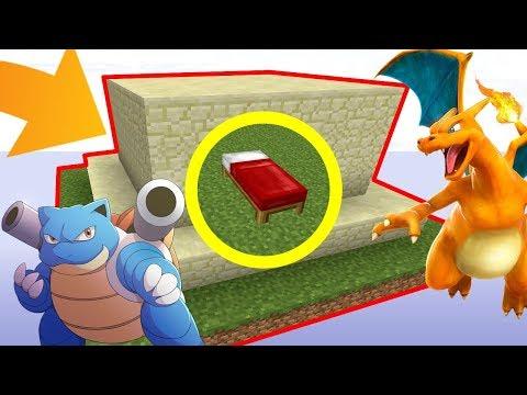 UN BASE ULTRA SÉCURISÉE PAR DES .. POKÉMON ? ! | Minecraft Bed Wars