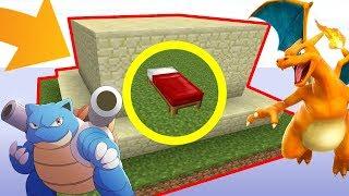 UNE BASE ULTRA SÉCURISÉE PAR DES .. POKÉMON ? ! | Minecraft Bed Wars