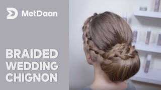 Braided Wedding Chignon