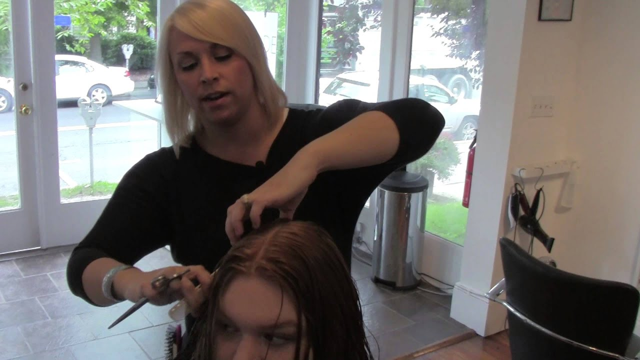 Gratitude Snip-It: Barrett goes over point cutting long layers