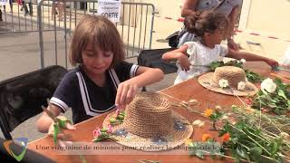 Concours de Chapeaux fleuris à Avallon 89200