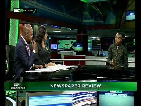 TVC Breakfast 16th April 2018 | Newspaper Review with Dotun Ojon
