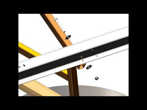 Cast-In-Place Ballasted GMS Assembly Animation