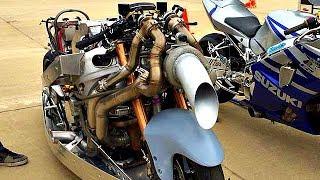 😈 Турбированные Монстры ❗ СуперЗаряженные Мотоциклы 💪!