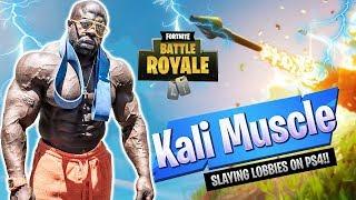 Fortnite Battle Royale // TOP BODYBUILDER  PLAYER |